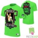JOHN CENA KOSZULKA WWE NEON ZIELONA