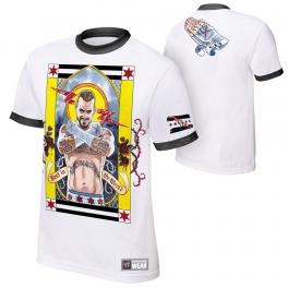 CM PUNK  KOSZULKA WWE ŻÓŁTA MODEL 2013