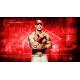 JOHN CENA KOSZULKA WWE NEVER GIVE UP POMARAŃCZOWA