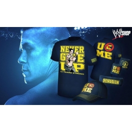 JOHN CENA KOMPLET NEVER GIVE UP 10 YEARS STRONG
