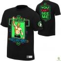 KOSZULKA WWE  JOHN CENA NEON