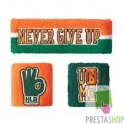 JOHN CENA OPASKI WWE NEVER GIVE UP FIOLETOWE
