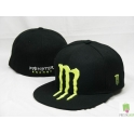 CZAPKA FULL CAP  MONSTER ENERGY BLACK