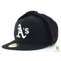 CZAPKA USZATKA NEW ERA OAKLAND ATLETICS