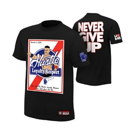 KOSZULKA WWE JOHN CENA HUSTLE LOYALTY RESPECT 2016