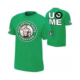 JOHN CENA KOSZULKA WWE RISE ABOVE HATE ZIELONA
