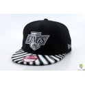 CZAPKA SNAPBACK NEW ERA LOS ANGELES KINGS ZEBRA