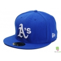 CZAPKA NEW ERA 59FIFTY OAKLAND ATLETICS NIEBIESKA