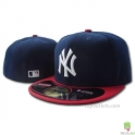 CZAPKA NEW ERA 59 FIFTY  NY YANKEES GRANATOWA