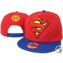 CZAPKA SNAPBACK NEW ERA/DC SUPERMAN RED