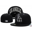 CZAPKA NEW ERA 59FIFTY LOS ANGELES DODGERS BLACK