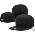 CZAPKA SNAPBACK ADIDAS FITED FLAT BLACK ORGINALS