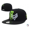 CZAPKA SNAPBACK MONSTER/FOX CZARNA
