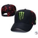 CZAPKA FULL CAP MONSTER-FOX BLACK